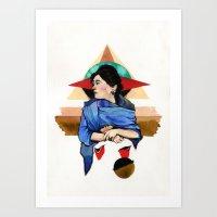 Libra (Zodiac) Art Print