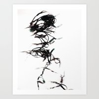 Mr. Tangles Art Print