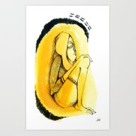 Eternal Present#Cave Art Print