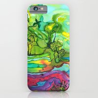 iPhone & iPod Case featuring tropical by Agata Kowalska