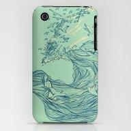 Ocean Breath iPhone (3g, 3gs) Slim Case