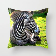 ZeebieJeebie Throw Pillow