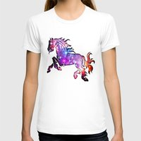 horse T-shirts featuring Horse by Spooky Dooky