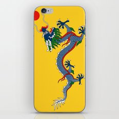 Chinese Dragon - Flag of Qing Dynasty iPhone & iPod Skin