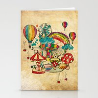 Funfair! Stationery Cards