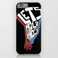 Let's Hold Hands iPhone 6s Slim Case