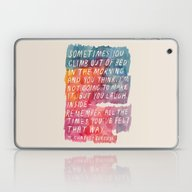 Charles Bukowski Laptop & iPad Skin