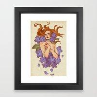 Wolfsbane Framed Art Print