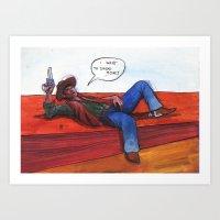Money-boy Art Print