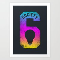 Idea! S6 Tee Art Print