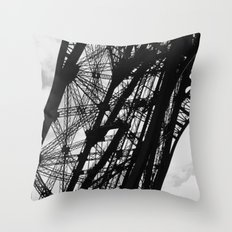 Eiffel Tower Base Detail… Throw Pillow