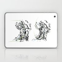 Head And Neck Laptop & iPad Skin