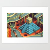 Culture Apparatus @ Exit… Art Print