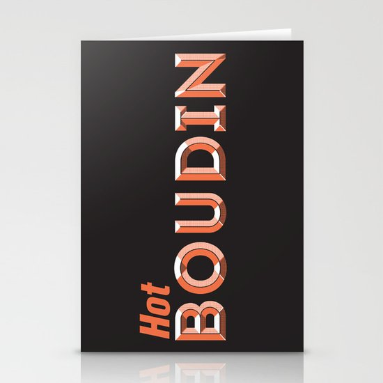 Hot Boudin Stationery Card