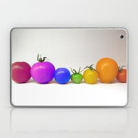 Rainbow Tomatoes Laptop & iPad Skin