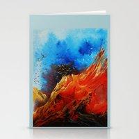 Yeryüzü ve Kuşlar Stationery Cards