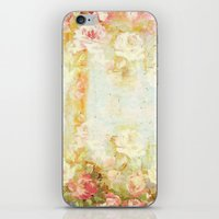 Vintage Roses And Pastel… iPhone & iPod Skin