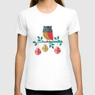 WOOHOO IT'S CHRISTMAS! Womens Fitted Tee White SMALL
