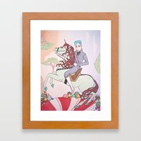 Mint King Framed Art Print