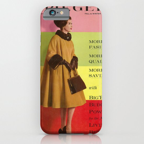 1961 Fall/Winter Catalog Cover iPhone & iPod Case