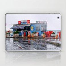 Rainy Beach Bar Cote d´Azur Laptop & iPad Skin