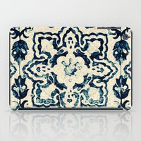 tile pattern - Portuguese azulejos iPad Case
