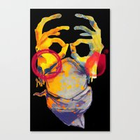 Phantom Hands Canvas Print