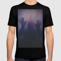 The Other Side SMALL Mens Fitted Tee Black