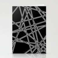 To The Edge Black #2 Stationery Cards