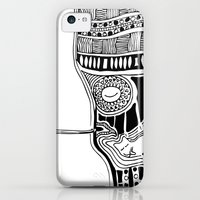 iPhone Cases featuring Tongue by Kara Art