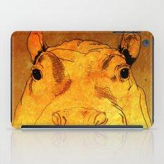 Golden Hippo iPad Case