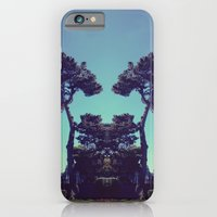 iPhone & iPod Case featuring ink blot tree  by 4blankwalls