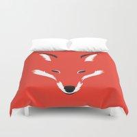 Foxy Shape Duvet Cover