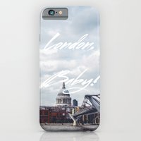 London, Baby! iPhone 6 Slim Case