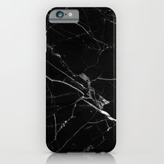 Black Marble iPhone 6 Slim Case