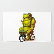 Bike Monster 1 Rug