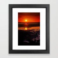 Hot Summer Night Framed Art Print