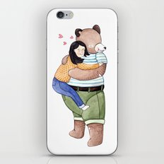 Hugs iPhone & iPod Skin