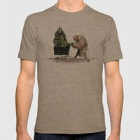 Glue Network Print Serie… Mens Fitted Tee Tri-Coffee SMALL