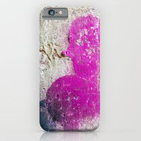 Magenta rounded drips iPhone 6 Slim Case