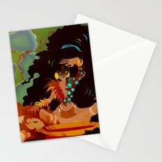 Calypso the Voodoo Priestess  Stationery Cards