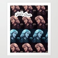 Fairouz The Arabic Singer Art Print