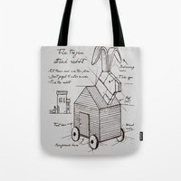 trojan rabbit Tote Bag