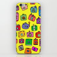 iPhone & iPod Skin featuring Cameras by Andy_panda_