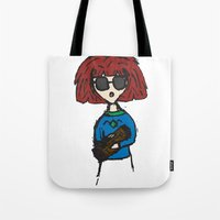 Something To Say About This (Log Lady) Tote Bag