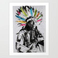 Natives Art Print