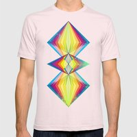 Polarity Mens Fitted Tee Light Pink SMALL