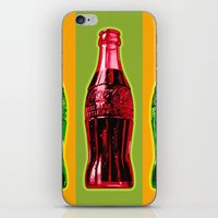 Two Coke Bottles iPhone & iPod Skin