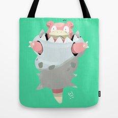 Mega Uncomfortable Slowbro Tote Bag