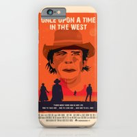 iPhone & iPod Case featuring Once Upon A Time In The West Poster: Harmonica by Joe Pugilist Design